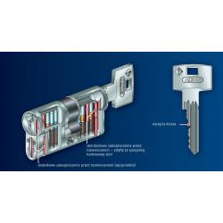 Wkładka ABUS Standard w systemie jednego klucza