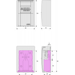 Depozytor kluczy ABUS KeyGarage 787