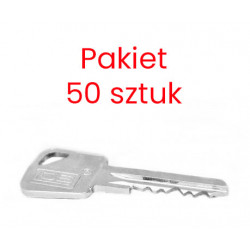 Pakiet 50 sztuk - Nacięty klucz Lob Ares do systemu...