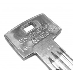 Indywidualny grawer na kluczu